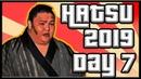 SUMO Hatsu Basho 2019 Day 7 Jan 19th Makuuchi ALL BOUTS
