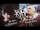 ХУК (1 сезон): MarQus M1LLion aka Crunky boy VS Brain Rapist aka Soul