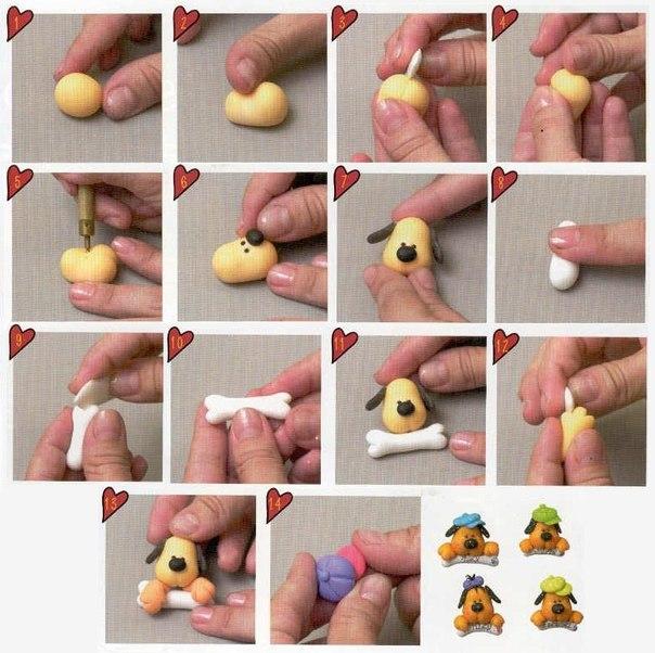 Как сделать глину из теста