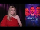 Dakota Fanning Watches (SUPER CUTE) Interviews Of Herself As A Kid (And Shooting The Alienist)
