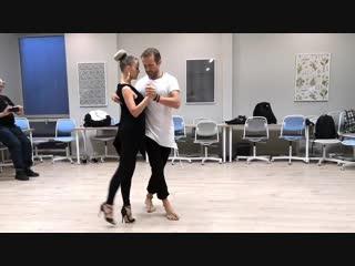 Kristofer Mencák & Rita Szabó - Kizomba Fusion - After Team Class Demo