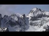 Skiing Slovakia's High Tatras - Высокие Татры.