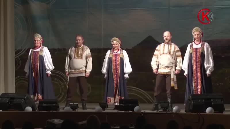 Ансамбль «Раздолье» из города Гороховец выступил в Дворце культуры им. Молодой Г