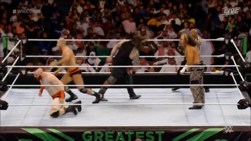 Matt Hardy Bray Wyatt vs Cesaro and Sheamus