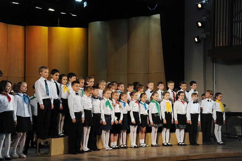 Сводный хор школы