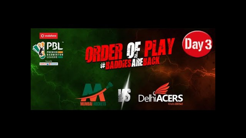 2017 PBL Day3 [Mumbai-Delhi] [XD] Lee Yong Dae-Nadiezda Zieba vs Ivan Sozonov-Maneesha K.