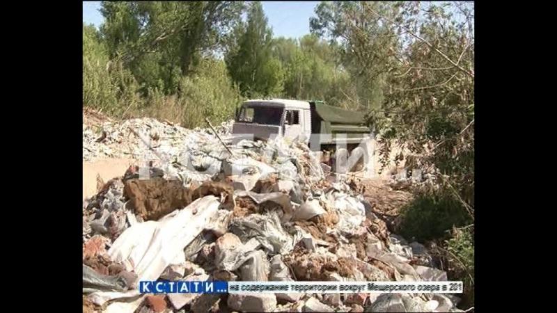 Вместо чистых озер, горы мусора выросли на Артемовских лугах