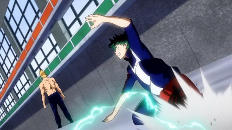 ▪「 AMV 」▪ Midoriya Class 1-A Vs Mirio Togata [FULL FIGHT] - My Hero Academia Season 3