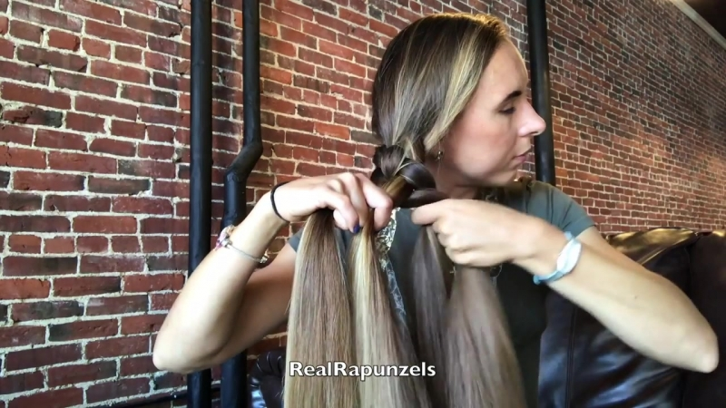 RealRapunzels - 4 strand braid (preview)