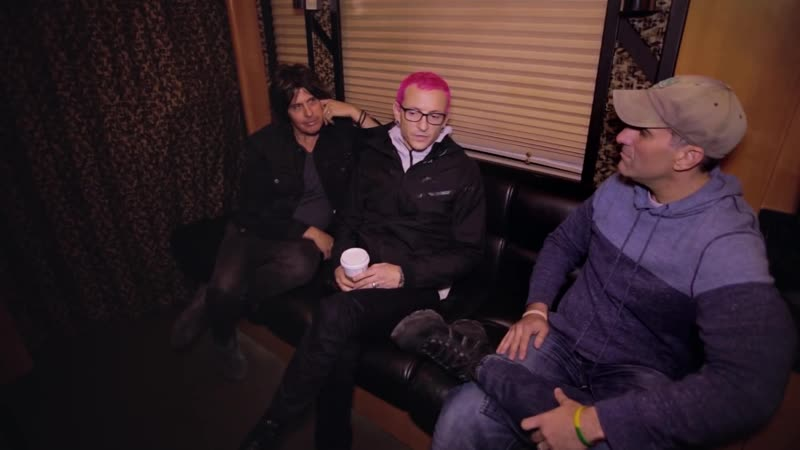 A-Sides Interviews Stone Temple Pilots Chester Bennington and Dean DeLeo (5-4-2015)