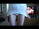 Девочка в белых трусиках танцует [эротика раздевается показывает красивую грудь попку не порно erotica teen panties ass]