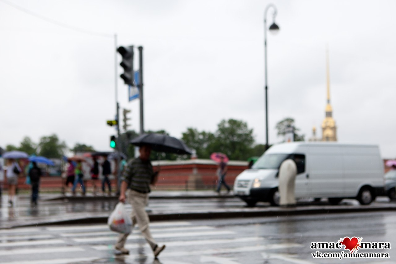 Пешеход, на переход