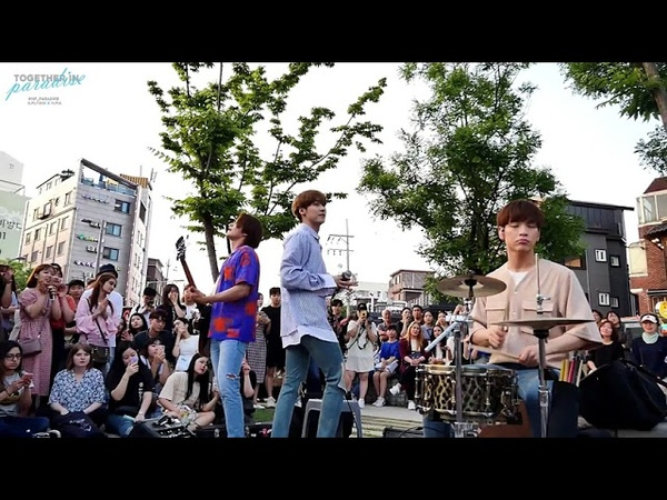 N.Flying - 팔불출 (Lovefool): 180629 Off To Flying Busking/연남 버스킹