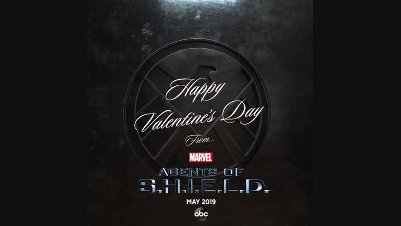 Агенты Щ И Т а С днём святого Валентина