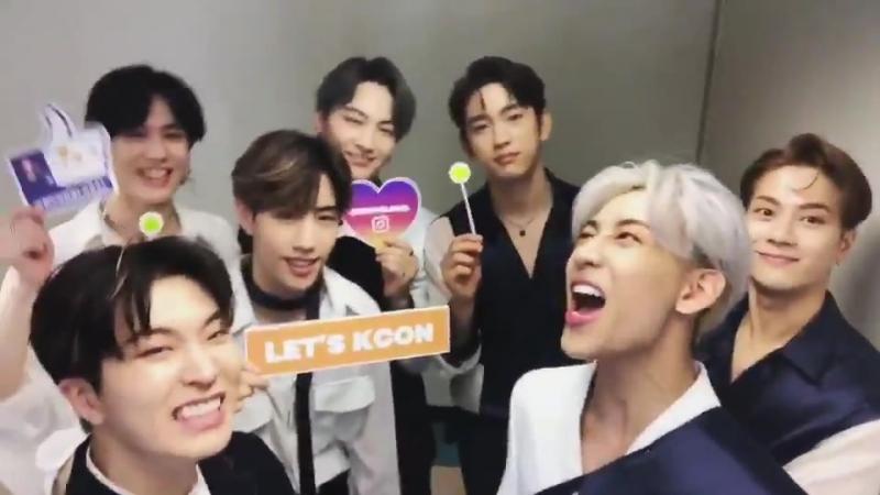 [KCON2018THAILAND] Агасэ, вы готовы кричать? @ KCON NOW - GOT7