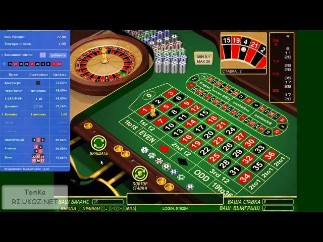 Взлом казино.как обыграть европейскую рулетку.