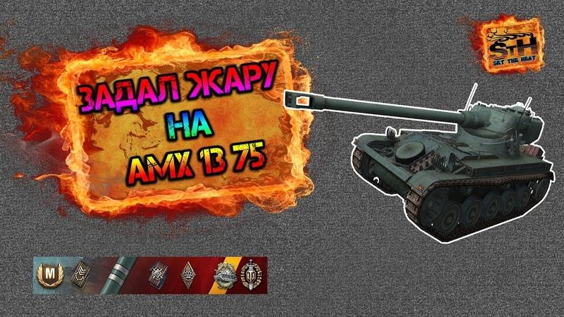 Отличный бой на AMX 13 75 Тащил как мог