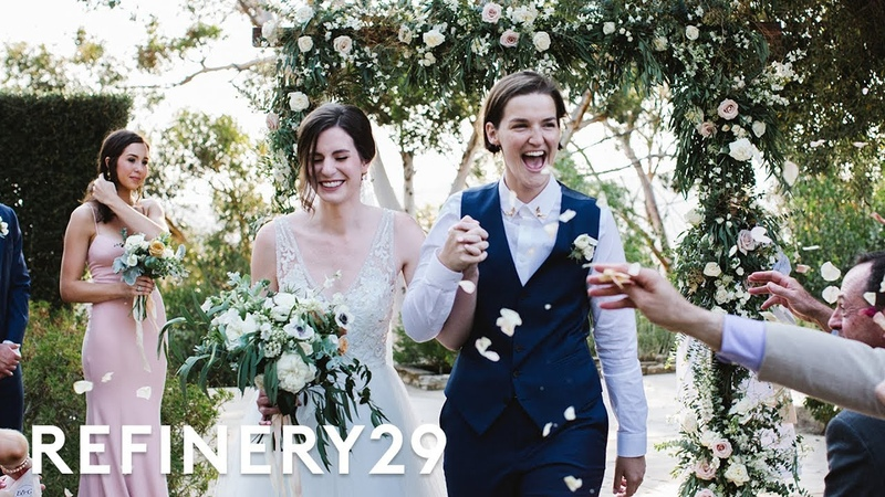 This Lesbian Couples Wedding Revolves Around Religion | World Wide Wed | Refinery29