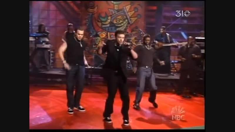 Justin Timberlake - Like I Love You (Jay Leno)