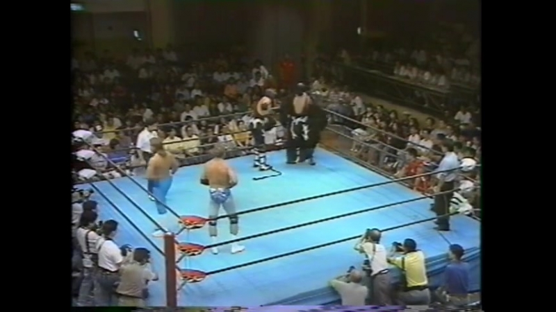 1991.08.17 - Blackheart Apocalypse/Blackheart Destruction vs. Jim Brunzell/Richard Slinger [FINISH]