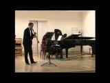 Сонатина для кларнета и фортепиано. А. Онеггер.