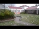Hailstorm in Uruguay and Argentina (September 22, 2018). Montevideo