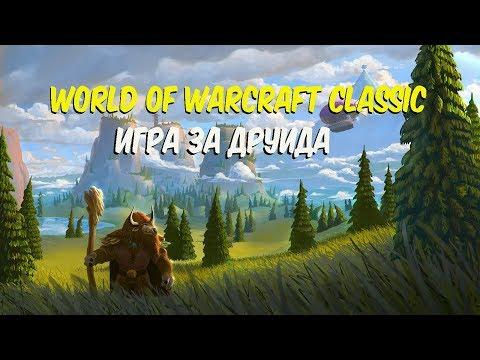 World of Warcraft Classic Игра за друида