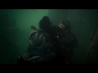 Legend Of Naga Pearls - drowning male and female
