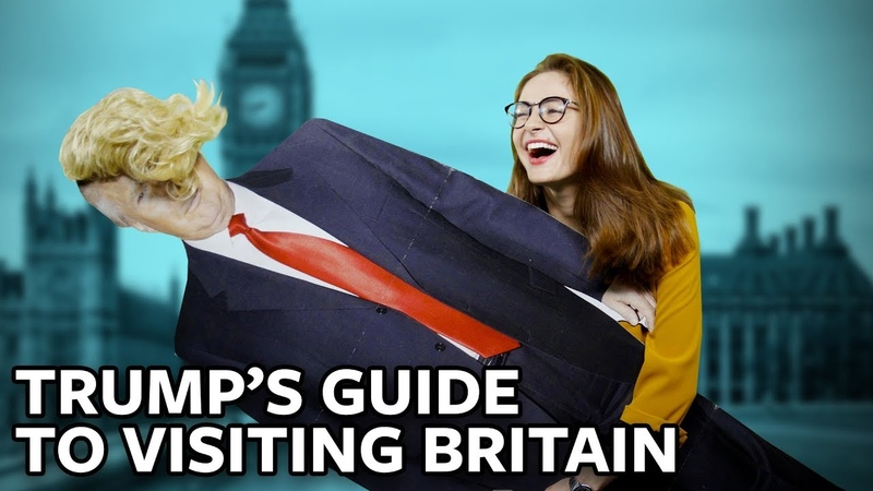 ICYMI: Hostile welcome awaits Trump in Britain… So show the president this briefing quickly!