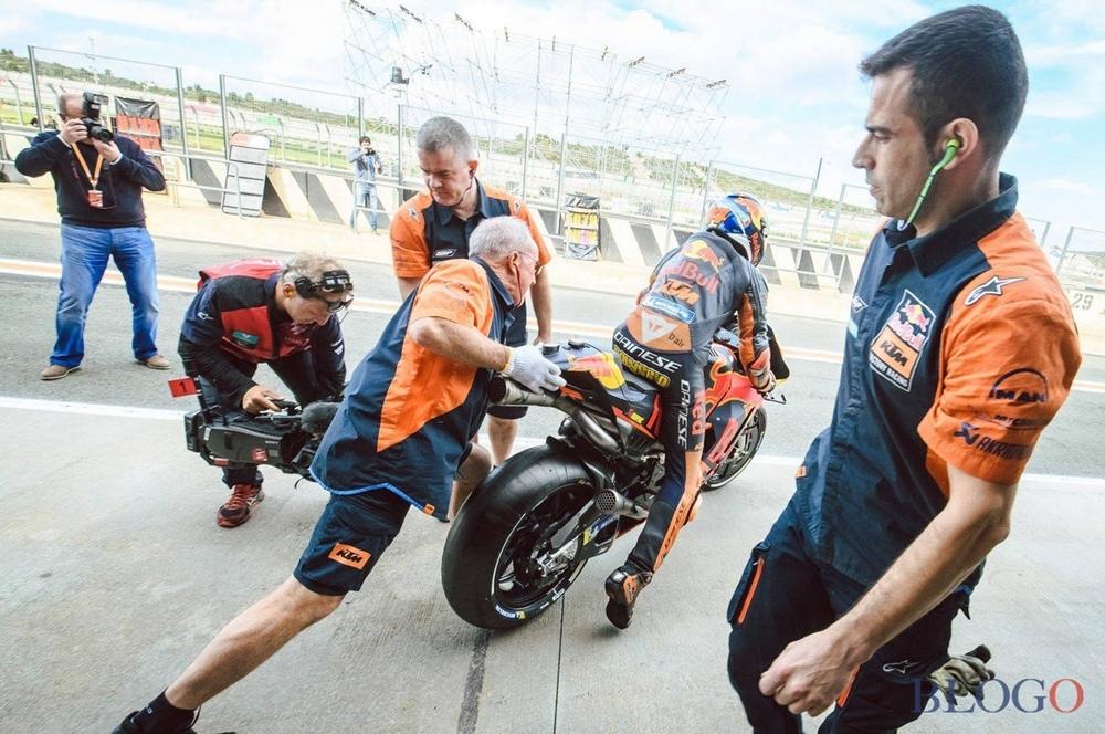 Подготовка KTM к MotoGP 2019 (фото)