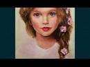 Портрет маслом Анны Павага мастер класс алла прима основы портрета Oil portrait Anna Pavaga