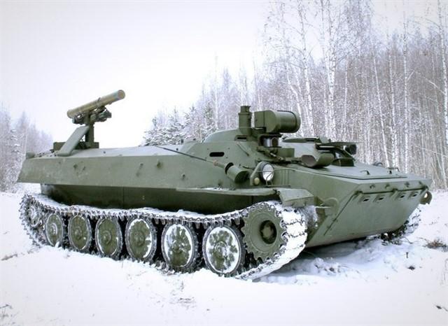 Самоходный противотанковый комплекс «Штурм-С»