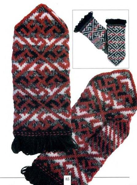 Файл Узорные рукавички.djvu