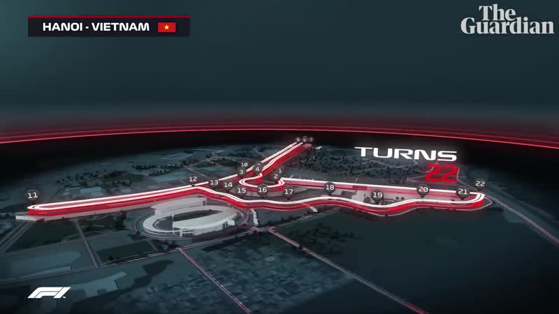Vietnam GP F1 reveals track map for Hanoi street race in 2020