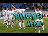 Philippines - Nepal. Football. AFC Asian Cup 2019 Qualifier. Goals, highlights 28.03.2017⚽🏆