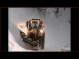 Тяга Витязь Дт-30 + Скоростная уборка снега! Hobo.