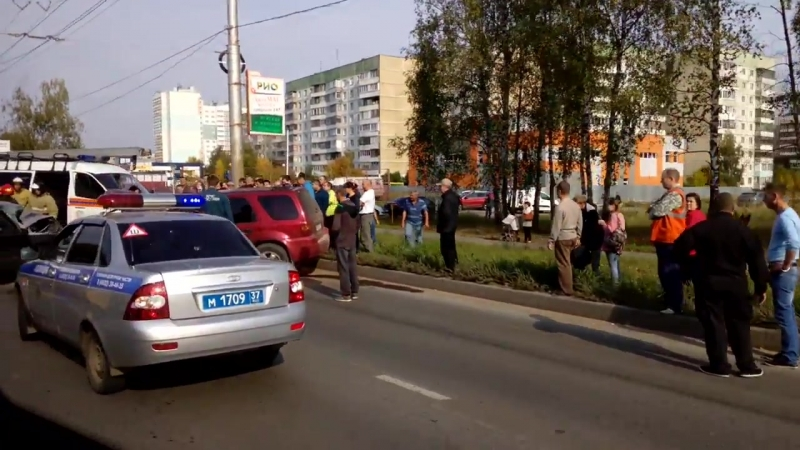 Иваново Авария в Суховке с двумя пострадавшими 23 09 2018 г