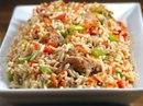 Нежнейшая говядина с овощами и рисом на обед