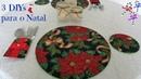 3 Idéias incríveis para decorar sua mesa de Natal   DIY Especial de Natal 8