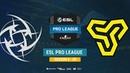 NIP vs Space Soldiers ESL Pro League S8 EU bo1 de cache CrystalMay MintGod