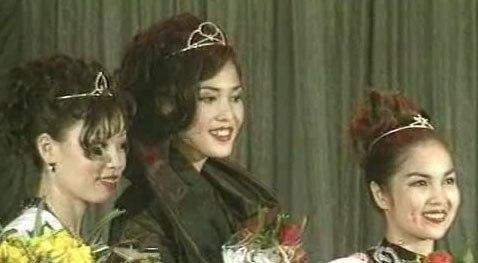 Кермен Иванова на конкурсе «Мисс Калмыкия»