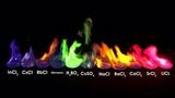 Rainbow fire.