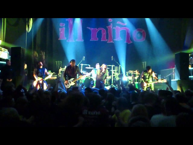 Ill Nino - God Save Us, Te Amo .. I Hate You (live in Minsk,13-04-13)