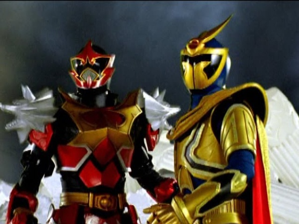 Power Rangers Mystic Force - Mystic Fate - Solaris Knight and Wolf Warrior vs The Master