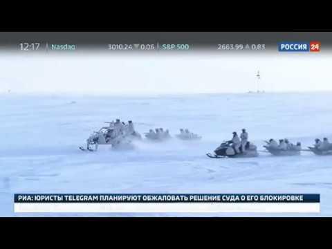 Росгвардия провела антитеррористические учения в Арктике в районе Земли Франца-Иосифа