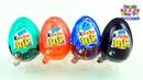 Kinder Joy Открываем киндеры сюрпризы Игрушки Сюрпризы для детей Яйца Сюрпризы для малышей