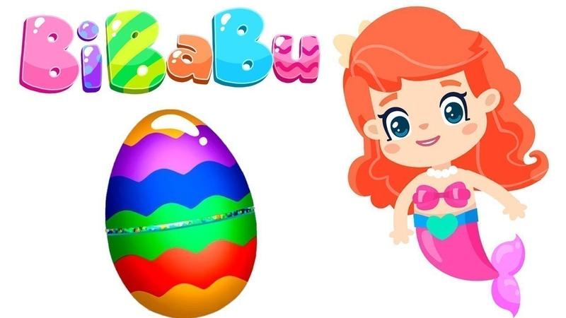 Bibabu y huevo sorpresa. Dibujos animados españoles.