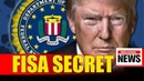 FISA SECRET IS OUT!! BIG NAMES TREMBLING AFTER TRUMP EXPOSED THIS ONE THING OVER RUSSIAN COLLUSION!