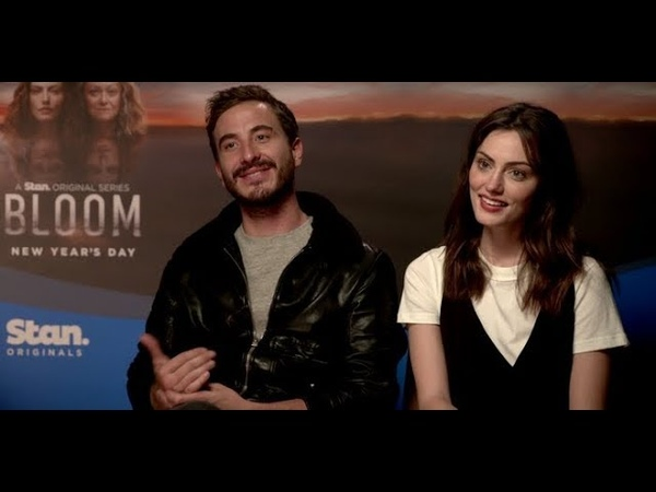 Phoebe Tonkin and Ryan Corr From Bloom Tell Us They Wished They Took School More Seriously