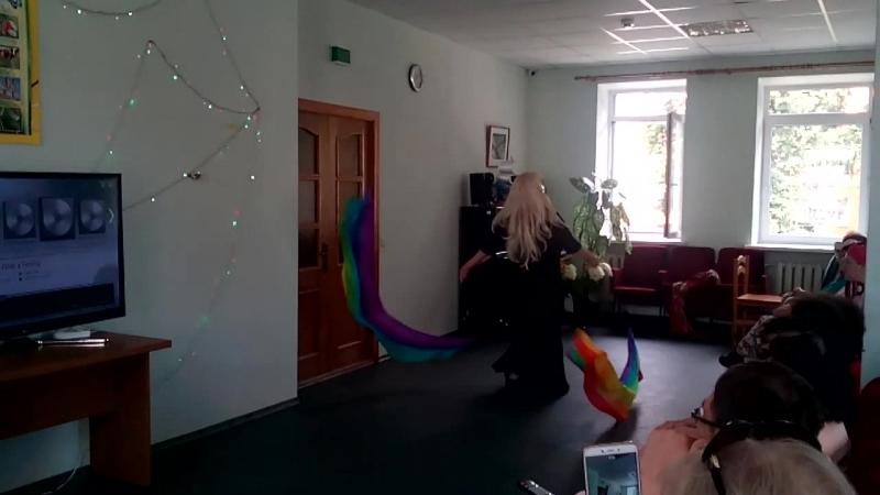 Михайлова Лариса Танец с пои Пост Т П Дорош